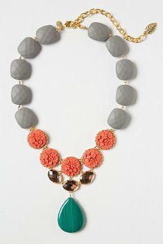 Amborella Necklace #anthropologie - Love the color combo