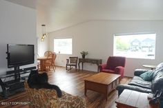 1521 Lynden Way Kodiak Alaska Real Estate $295,000 Check out this great home with pet-friendly new vinyl plank flooring! The spacious living room flows into the dining area and kitchen and the high ceilings add to the roomy feel of this home. Master bedroom, fenced yard, ample parking and new range, microwave & dishwasher are some of the desirable features to note. Don't wait, this one won't last long!