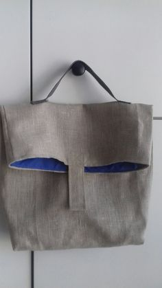 Lniana torba na lunch Lunch, Bags, Fashion, Handbags, Moda, Fashion Styles, Eat Lunch, Fashion Illustrations, Lunches