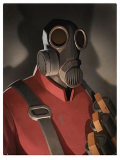 The Pyro - Team Fortress 2 - Moby Francke