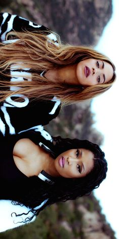 Nicki Minaj and Beyoncé