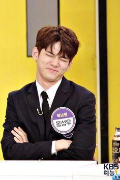 Ong aing ❤ Meme Faces, Funny Faces, Ong Seung Woo, Baby Seal, Lee Daehwi, Kim Jaehwan, My Destiny, Ha Sungwoon, Cha Eun Woo
