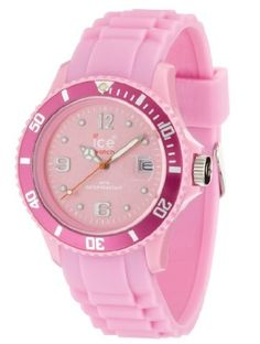 Ice-Watch Unisex SI.PK.U.S.09 Sili Collection Pink Plastic and Silicone Watch