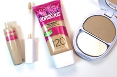 CoverGirl Ready Set Gorgeous Foundation, Concealer,