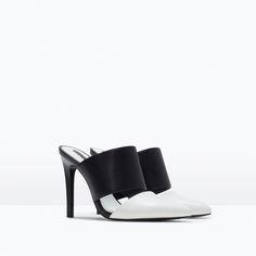 HIGH-HEELED SLINGBACK-Trf-Shoes-WOMAN   ZARA   so cheap and so cute