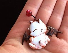 Your place to buy and sell all things handmade Final Fantasy Tactics, Fantasy Craft, Nerd Crafts, Nerd Fashion, Cute Polymer Clay, Nerd Art, Clay Figurine, Fantasy Inspiration, Geek Out
