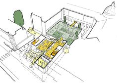 ArchitecturePLB is a design-led practice with offices in Winchester and London. We have a diverse portfolio including projects of all sizes and types. Architecture Concept Diagram, Architecture Presentation Board, Presentation Boards, Urban Analysis, Site Analysis, Map Sketch, Sketches, Public Space Design, Architecture Student