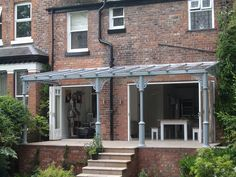 Specialists in the manufacture and installation of bespoke high quality traditional style glass verandas. Small Pergola, Pergola Attached To House, Deck With Pergola, Pergola Shade, Patio Roof, Pergola Roof, Victorian Sheds, Edwardian House, Glass Porch