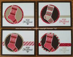 Dena Lenneman, Stampin' Up! Demonstrator: Hang Your Stocking Stockings Thinlits Merry Christmas
