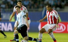Paraguay le empató sobre el final a Argentina en la Copa América