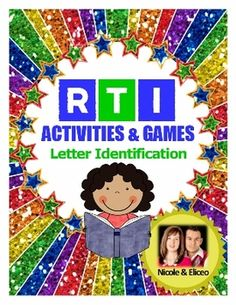Kindergarten RTI Complete Pack (letter identification, sounds, and sight words! Kindergarten Language Arts, Kindergarten Literacy, Early Literacy, Teacher Education, Elementary Education, Special Education, Teacher Resources, Reading Intervention, Reading Fluency