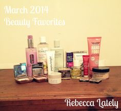 Rebecca Lately // BEAUTY FAVORITES: March 2014 // Giveaway: John Frieda // Boots // KISSLashes // Wet 'n' Wild // Soap & Glory