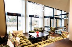 Ruhebereich im Livingroom SPA //  Landhotel Voshövel