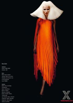 NEXT COMPANY MODELS BLOG: Tereza B for 74 - THE HAIR BIBLE Issue 3 Spring 2012 by Alex Schier