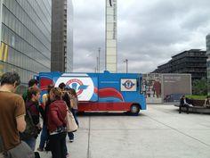 Le Camion qui Fume – BNF à Paris, Île-de-France