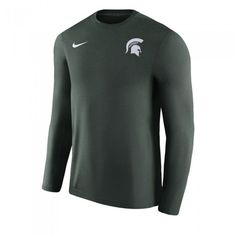 pretty nice 58ca3 fa0da Michigan State University 2017 Nike Sideline Legend Coaches Dri Fit Long  Sleeve At Campus Den Long