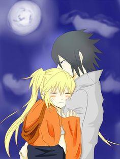 「moonlight magic」/ Sasuke x Saori (Naruko) Naruto Shippuden Sasuke, Naruto And Sasuke, Sasunaru, Anime Naruto, Naruto Funny, Narusasu, Boruto, Naruto Girls, Animes Wallpapers