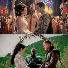 Which wedding? Double tap for Snowing because Ginny and Josh show us through them that true love and fairytales are real!