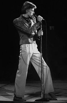 David Bowie - The Young Americans tour at the Washington DC Capital Centre on 11 November 1974.