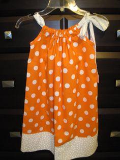 UNIVERSITY of TENNESSEE VOLS Pillowcase Dress