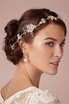 Wavy pearl cluster halo - BHLDN Exclusive Aster halo