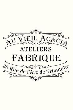 A nosztalgikus szépia transzfer I. Pub Vintage, Vintage Tags, Vintage Labels, Vintage Prints, Vintage Roses, French Vintage, French Typography, Typography Quotes, French Signs