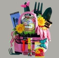 the Gardening theme basket, silent auction.presentationFor the Gardening theme basket, silent auction. Theme Baskets, Themed Gift Baskets, Diy Gift Baskets, Basket Gift, Gift Hampers, Fundraiser Baskets, Raffle Baskets, Chinese Auction, Silent Auction Baskets