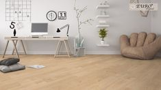 Euro Original Euro Loft Collection Colour: New Classic Underfloor Heating Systems, Engineered Hardwood, Classic Collection, Indoor Air Quality, Real Wood, Office Desk, Loft, Flooring, The Originals