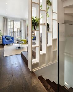 9 Prompt Tips: Room Divider Wall Beds room divider bedroom storage solutions.Room Divider Window Home Office room divider metal house. Stairs Design, Mews House, Home, House Design, Room Partition Designs, Decorative Room Dividers, House Interior, Divider Design, Home Deco