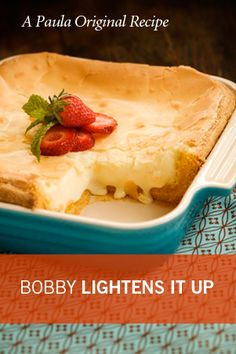 Paula Deen Bobby's Lighter Gooey Butter Cake