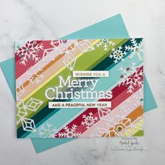 Die Cut Christmas Cards, Diy Holiday Cards, Beautiful Christmas Cards, Xmas Cards, Card Making Inspiration, Making Ideas, Strip Cards, Snowflake Cards, Snowflakes