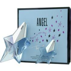 Angel perfume by Thierry Mugler  EAU DE PARFUM SPRAY .8 OZ & EAU DE PARFUM .17 OZ MINI (TRAVEL OFFER) #FragranceNet