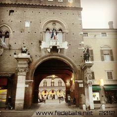 Hall Palace. Ferrara, Emilia Romagna, Italy by FEdetails, via Flickr