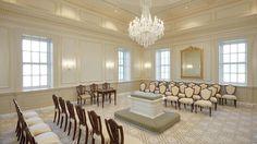 Hartford CT Mormon Temple - Sealing Room