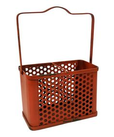 Love this Red Classic Long Basket on #zulily! #zulilyfinds  Access is restricted to members only so here is an invitation to join. Invite friends and get $15 for every referral once your friend makes their 1st purchase and shipment. No limit to referral $'s.  Link: http://www.zulily.com/invite/pmiller9177
