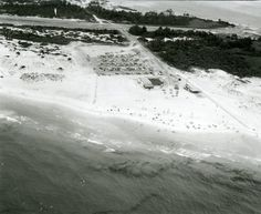 This is a Florida Memory aerial photograph of Destin taken in 1968.  Looks like the NCO club.