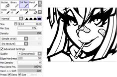 lineart brush settings! by juurikun on DeviantArt