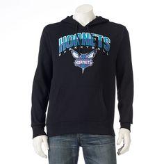 Men's Unk Charlotte Hornets Fleece Hoodie, Size: Medium, Black
