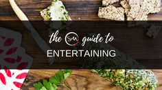 The Skinnymixers Guide to Entertaining
