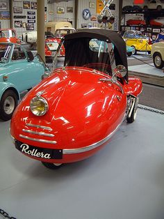 1958 Brütsch Rollera, pined from Stanley Hunter Classic Motors, Classic Cars, Automobile, Minis, Mini Car, Engin, Weird Cars, Jeep Cars, Unique Cars