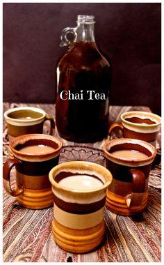 Chai Tea Concentrate Recipe (requires grinder/mortar & pestle)