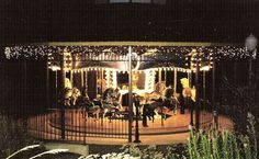 """`© Bob & Sandy Cherot  Date of picture: September, 2004   The """"Dream Maker"""" Carousel, located in the private garden of the Cherot Family home in Somers, Montana overlooks the Flathead Lake. It operates from May through September and is open to the public by reservation. Rides are free but donations to the local Volunteer Fire Department and Food Bank are accepted."""