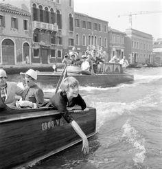 Shirley MacLaine a Venezia nel 1954 - Courtesy Archivio Graziano Arici