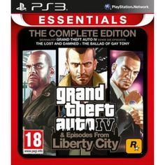 Grand Theft Auto IV  Complete Edition - Import (AT)  PS3 in Actionspiele FSK 19, Spiele und Games in Online Shop http://Spiel.Zone
