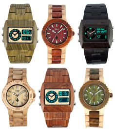 wood watches!  me likey for the boyfriend!