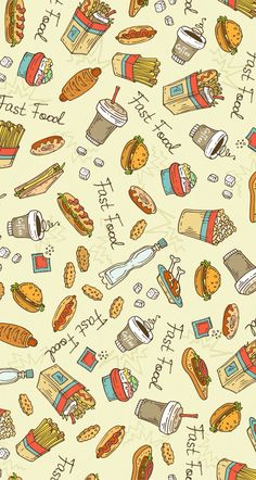 The fast food wallpaper :)