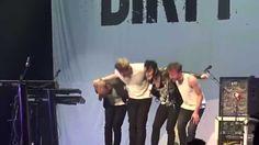 """Dirty Loops """"Hit Me"""" 2.9.15 Yokohama Arena, Tokyo, Japan"""