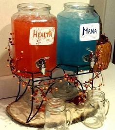 Health and mana potions for the next get together!