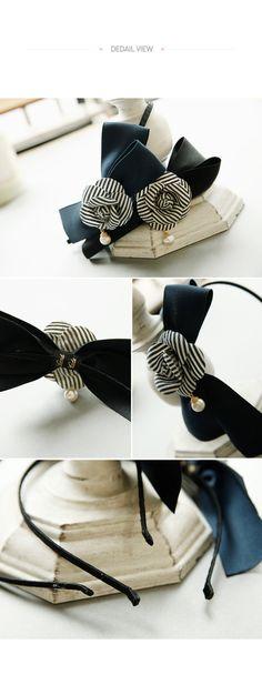 headband made by hand in Korea, free shipping