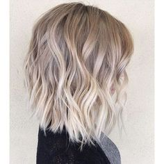 Blonde Balayage Hair Colors With Highlights  Balayage Blonde - Part 17